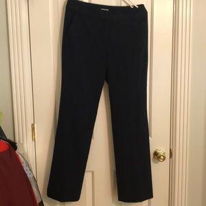 Jcrew navy trouser pants-barely worn